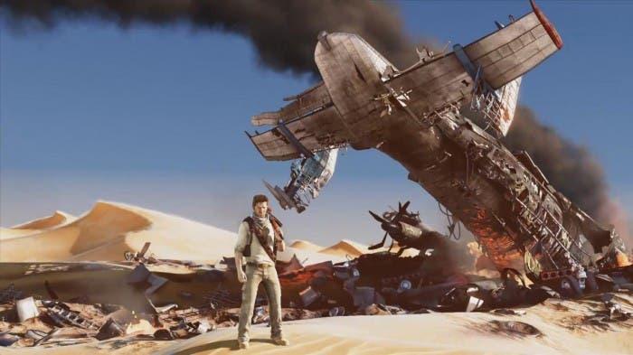 Escena en el desierto