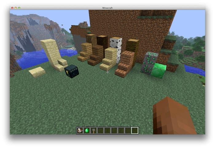 Algunas de las novedades de Minecraft 1.3