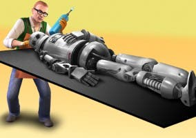 Inventor frabricando un SimBot