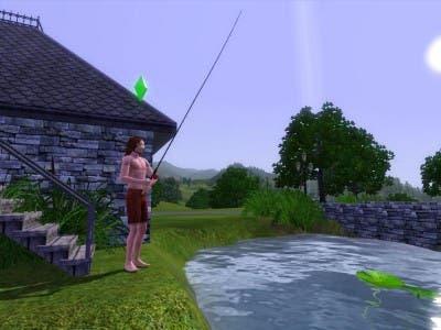 Sim pescando