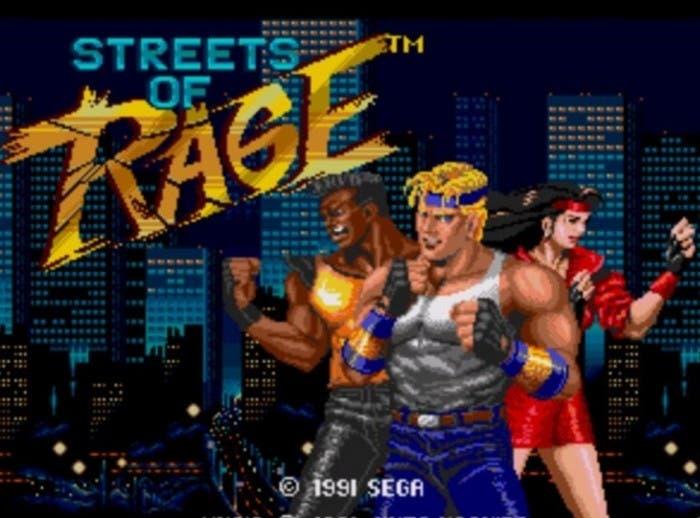 Streets of Rage Portada