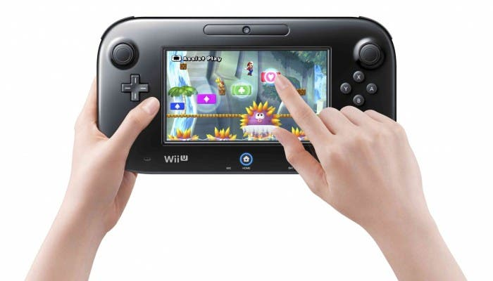 New Super Mario Bros U en GamePad