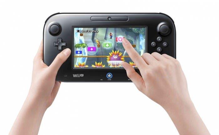 New Super Mario Bros U en GamePad