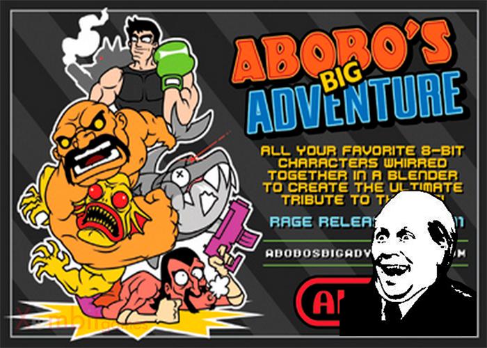 portada para el es gratis sobre Abobo´s big Adventure