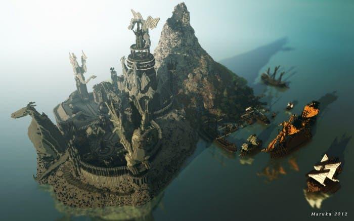 Nuevo y ambicioso proyecto para Minecraft