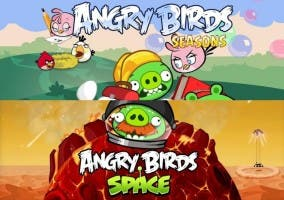 Angry Birds Space y Seasons
