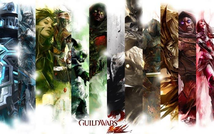 personajes GW2