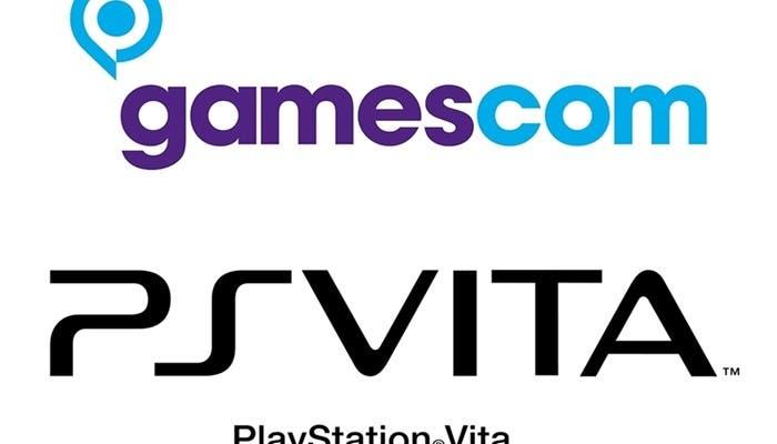 Logos de Gamescom y PS Vita