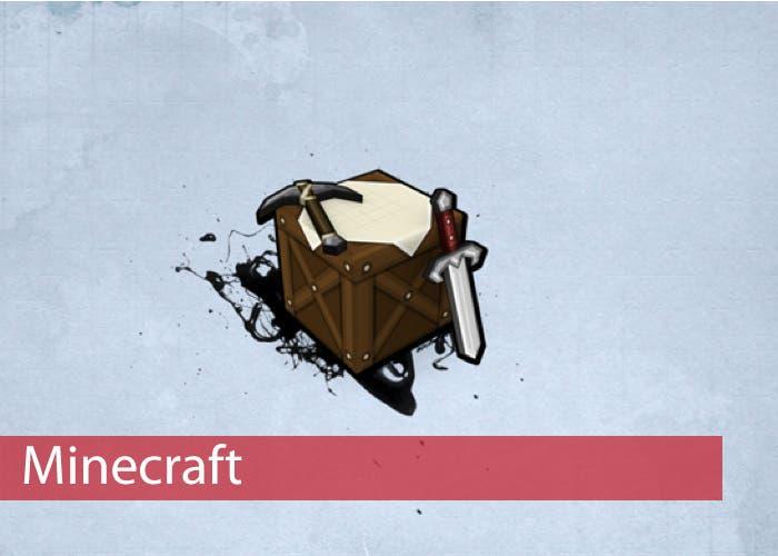 Mesa de crafteo de Minecraft