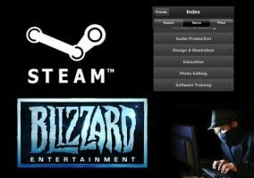 Steam vende software y Battle.net hackeada