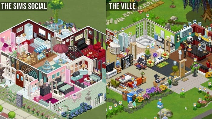 The Ville y The Sims Social