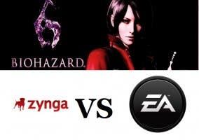 Zynga vs EA y Nueva info de Resident Evil 6