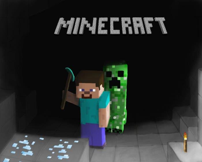 Minecraft creeper diamante