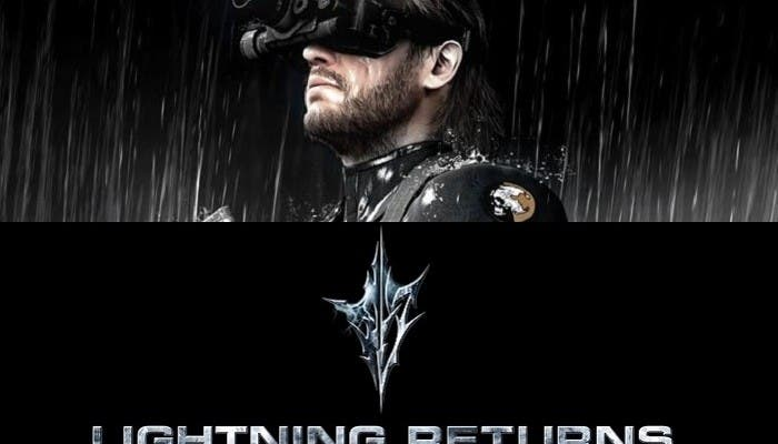 Lightning Returns y Metal Gear Solid Ground Zeroes tráiler