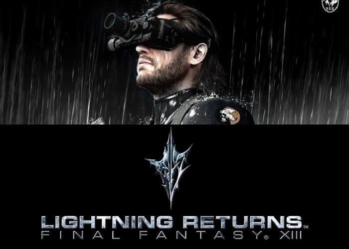 Lightning Returns y Metal Gear Solid Ground Zeroes tráiler
