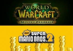 Mist of Pandaria y New Super Marios Bros 2