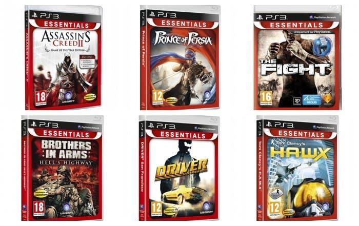 Algunos PlayStation 3 Essentials