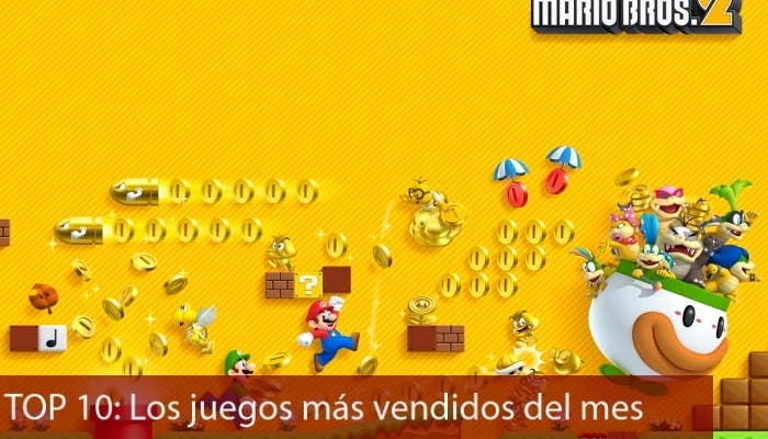 TOP 10 Agosto New Super Mario Bros 2