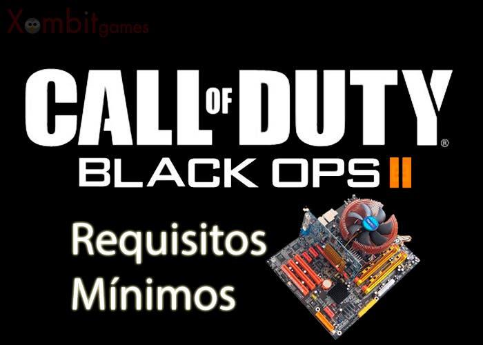 requisitos mínimos black ops II portada