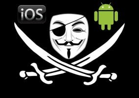 Bandera pirata iOS Android