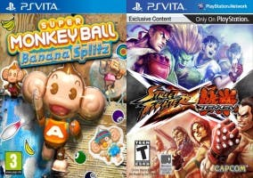 Caratulas Street Fighter X Tekken y Monkey Ball