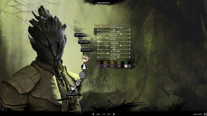 Guild Wars 2 personaje