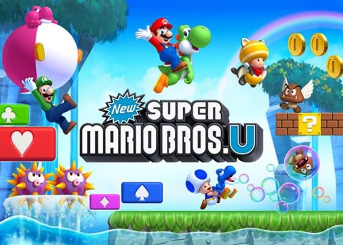New Super Mario Bros U Portada