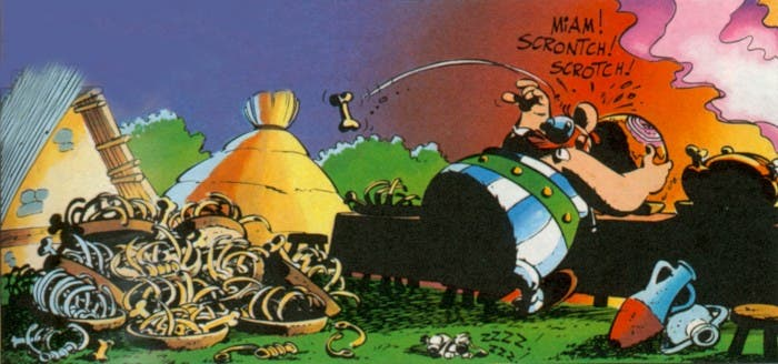 Obelix, el archienemigo número 1 de la PETA