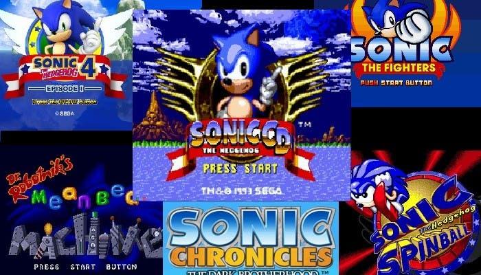 Sonic Mejores Sagas 10 logo