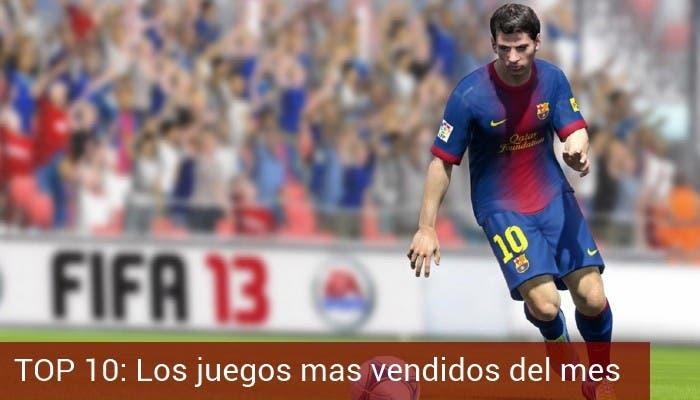 FIFA 13 Juego mas vendido del mes