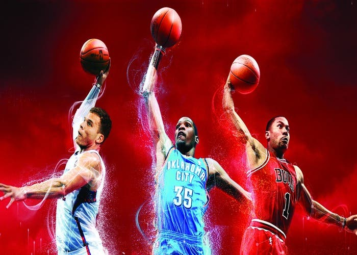Griffin, Durant y Rose