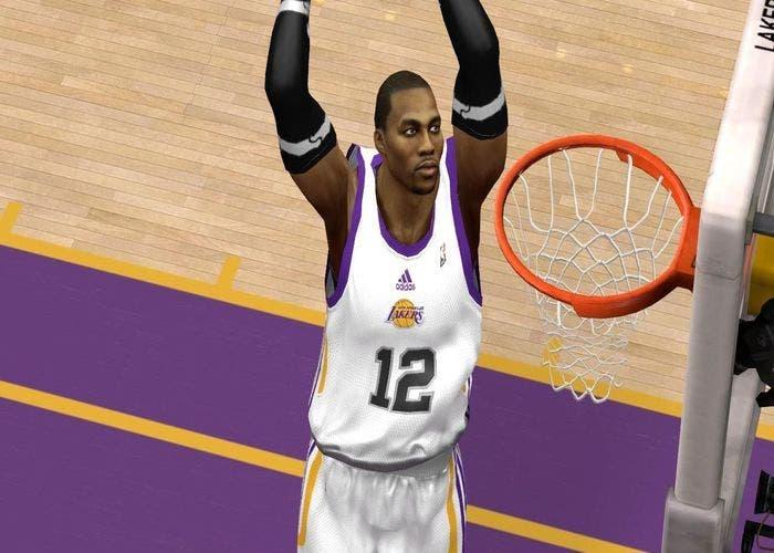 Cyberface de Howard en los Lakers