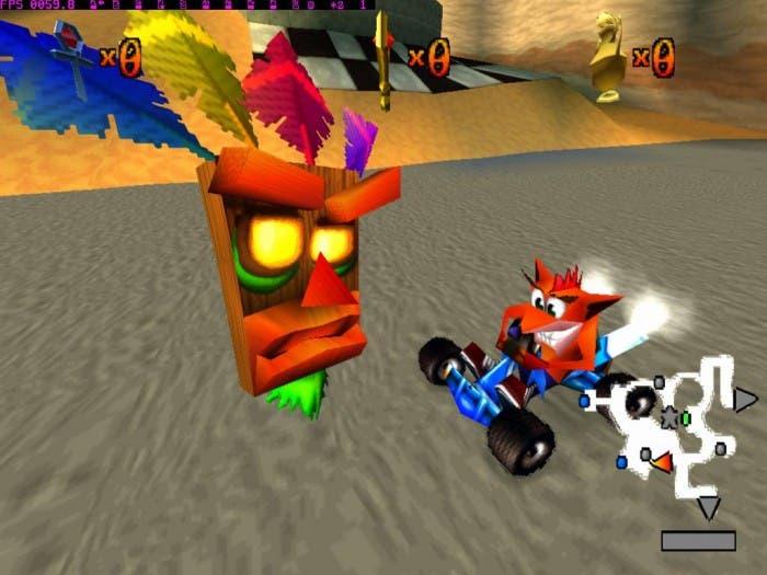 Aku-Aku y Crash