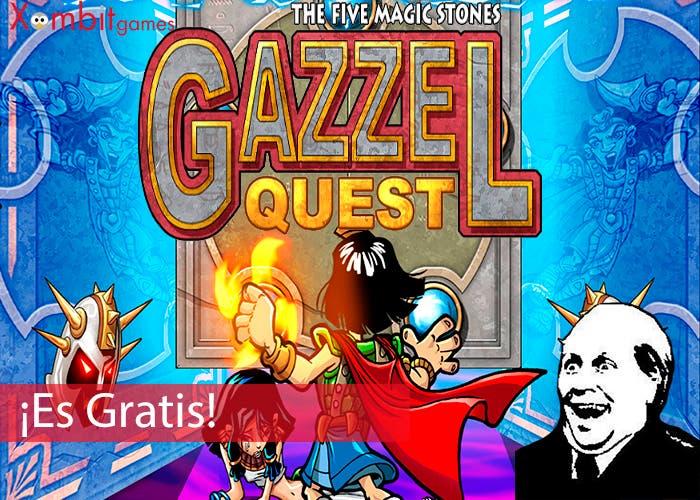 Portada Es Gratis Gazzel Quest