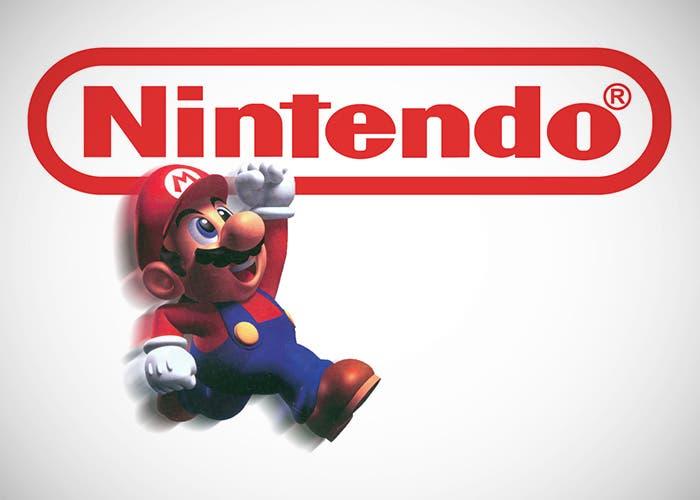 Logo de Nintendo y Mario