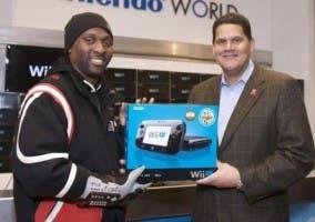 Reggie Fils-Aime vendiendo Wii U