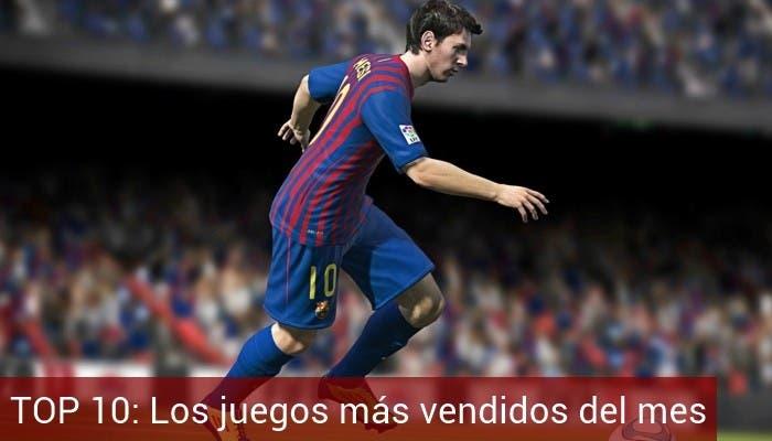 Top 10 juegos octubre 2012 FIFA 13