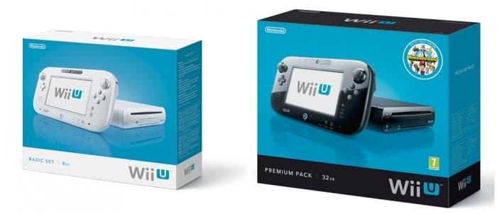 Los dos packs de Wii U
