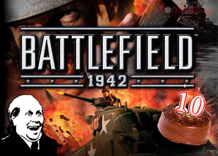 Portada 10º aniversario battlefield 1942