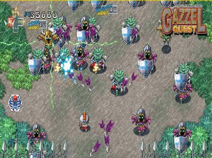 Captura modo devastación Gazzel Quest