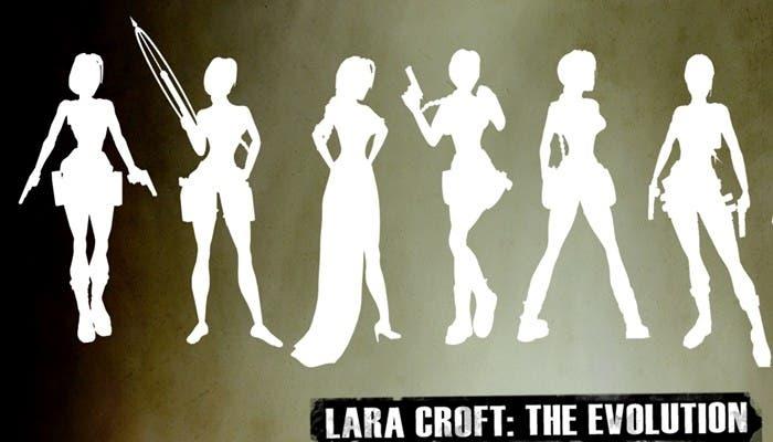 La evolución de Lara Croft