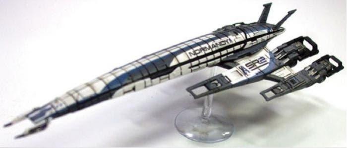 Nave de Shepard vista lateral