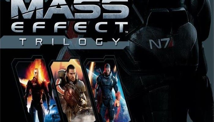 Mass Effect Trilogy Portada