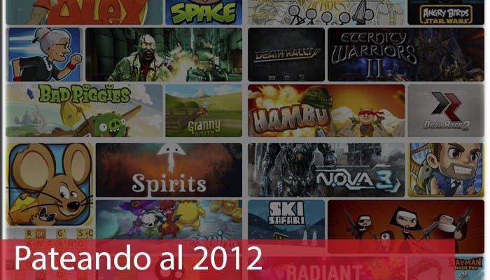 Pateando al 2012 Juegos para smartphone
