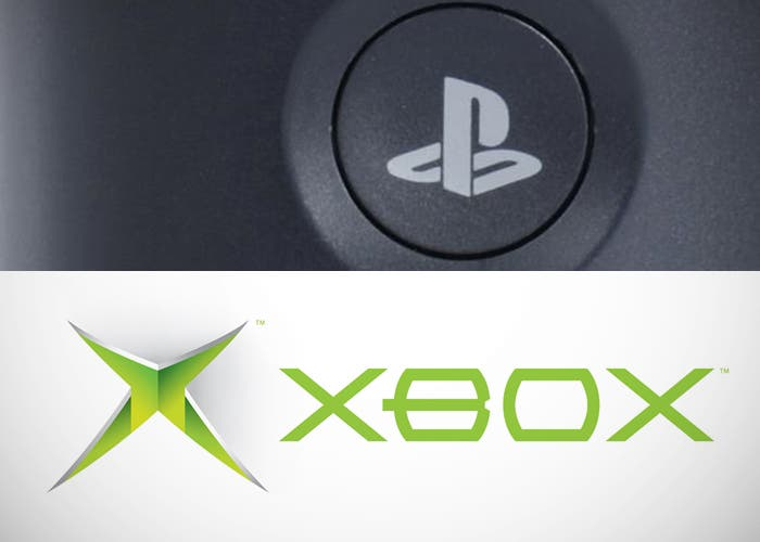 Logos de PlayStation y Xbox