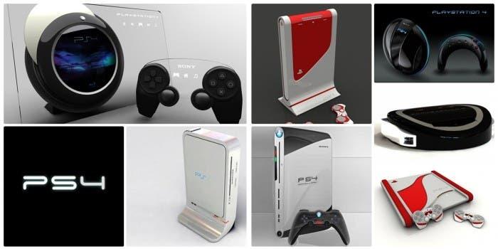 Diversos modelos de PS4
