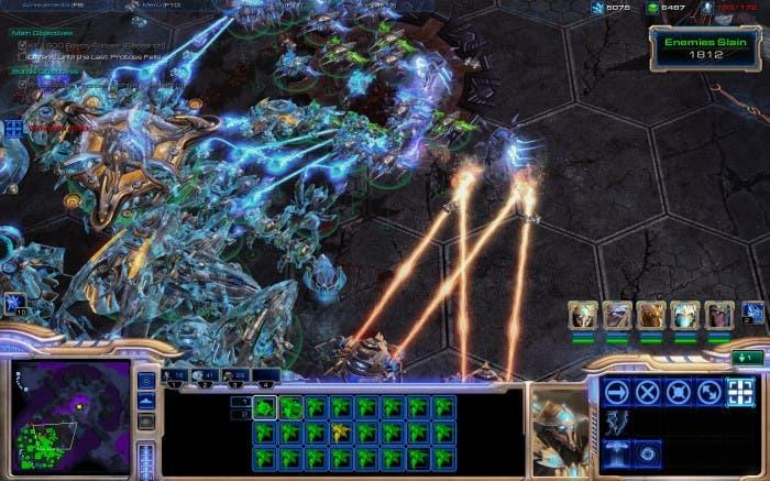 Starcraft II Batalla aérea