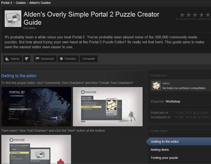 Guía Portal 2