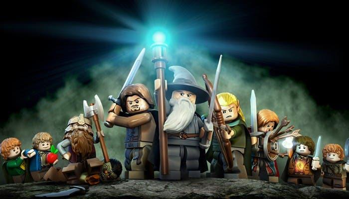 Portada de LEGO El señor de los anillos