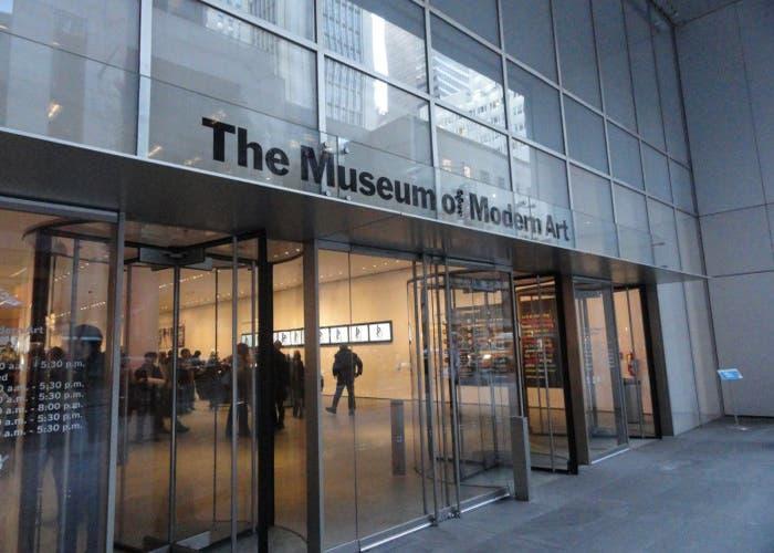Entrada del Museo de Arte Moderno